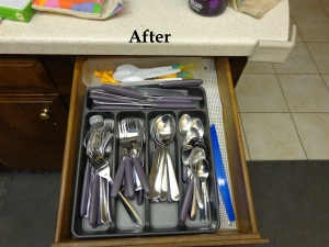 silverware after