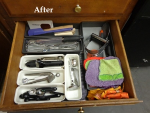utensils after